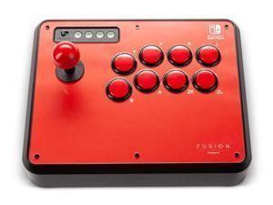 PowerA Fusion Wireless Arcade Stick for Nintendo Switch, Lite, Fight Stick, Gamepad, Game Controller, Bluetooth Controller, AA - Nintendo Switch