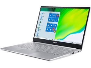 "Acer Swift 3 Intel Evo Thin & Light Laptop, 14"" Full HD, Intel Core i7-1165G7, Intel Iris Xe Graphics, 8GB LPDDR4X, 256GB NVMe SSD, Wi-Fi 6, Fingerprint Reader, Back-lit KB, SF314-59-75QC Notebook PC"