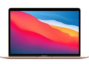 Apple MacBook Air with Apple M1 Chip (13-inch, 8GB RAM, 256GB SSD Storage) - Gold (Latest Model) Laptop Notebook MGND3LL/A