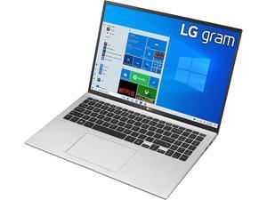 "LG Gram Thin & Light Laptop - 16"" IPS WQXGA (2560 x 1600) 11th Gen Intel Core i7 1165G7 CPU, Intel Iris Xe Graphics, 16GB RAM, 1TB NVMe SSD, 22 Hour Battery, - 16Z90P-K.AAS8U1 - Silver (2021)"