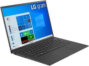 "LG Gram Thin & Light Laptop - 14"" IPS WUXGA (1920 x 1200) 11th Gen Intel Core i7 1165G7 CPU, Intel Iris Xe Graphics, 16GB RAM, 512GB NVMe SSD, 25.5 Hour Battery - 14Z90P-K.AAB8U1 -Black (2021)"