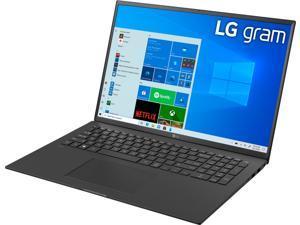 "LG - gram 17"" WQXGA Laptop – Intel Core i7 – 16GB RAM – 1TB NVMe Solid State Drive - Black 17Z90P-K.AAB8U1 Notebook PC Computer"