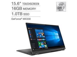 "Lenovo Flex 5 15.6"" 2-in-1 Touchscreen Laptop - 10th Gen Intel Core i7-1065G7 - GeForce MX330 - 1080p - Windows 10 Professional 81X30004US Notebook Tablet"