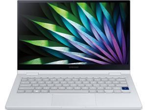 "Samsung - Galaxy Book Flex2 Alpha 13.3"" QLED Touch-Screen Laptop - Intel Core i5 - 8GB Memory - 256GB SSD - Royal Silver Notebook Tablet"