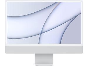 2021 Apple iMac (24-inch, Apple M1 chip with 8-core CPU and 7-core GPU, 8GB RAM, 256GB) - Silver MGTF3LL/A Desktop PC Computer