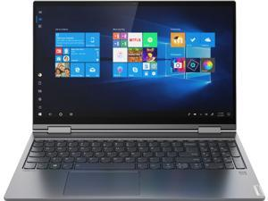 """Lenovo Yoga C740 2-in-1 15.6"""" Touch Screen Laptop - Intel Core i5 - 8GB Memory - 512GB SSD + 32GB Optane H10 - Iron Grey 81TD0078US Tablet Notebook"""
