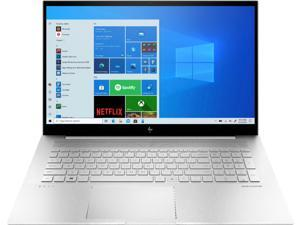 """HP - ENVY 17.3"""" Touch-Screen Laptop - Intel Core i7 - 12GB Memory - 512GB SSD + 32GB Intel Optane - Natural Silver Notebook 17m-ch0013dx"""