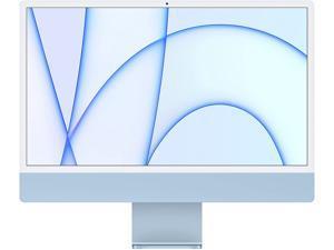 2021 Apple iMac (24-inch, Apple M1 chip with 8-core CPU and 8-core GPU, 8GB RAM, 512GB) - Blue ?MGPL3LL/A Desktop PC Computer