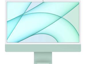 2021 Apple iMac (24-inch, Apple M1 chip with 8-core CPU and 8-core GPU, 8GB RAM, 256GB) - Green Desktop PC Computer