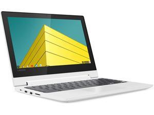 "Lenovo Chromebook Flex 3 11"" Laptop, 11.6-Inch HD (1366 x 768) IPS Display, MediaTek MT8173C Processor, 4GB LPDDR3, 64 GB eMMC, Chrome OS, 82HG0006US, Blizzard White"