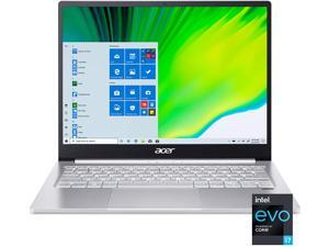 "Acer Swift 3 Intel Evo Thin & Light Laptop, 13.5"" 2256 x 1504 IPS, Intel Core i7-1165G7, Intel Iris Xe Graphics, 8GB LPDDR4X, 512GB NVMe SSD, Wi-Fi 6, Fingerprint Reader, Back-lit KB, SF313-53-78UG"