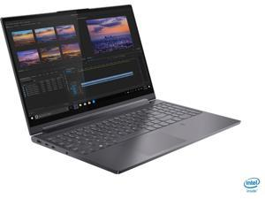 """Lenovo - Yoga 9i 15"""" 2-in-1 Touch-Screen Laptop - Intel Core i7 - 16GB Memory - NVIDIA GeForce GTX 1650Ti - 1TB SSD - Slate Gray Tablet Notebook"""
