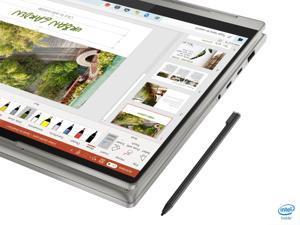 "Lenovo - Yoga 9i 14 2-in-1 14"" Touch-Screen Laptop - Intel Evo Platform Core i7 - 16GB Memory - 512GB SSD - Mica 82BG0090US Tablet Notebook"