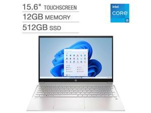 "HP Pavilion 15.6"" Touchscreen Laptop - 11th Gen Intel Core i5-1155G7 - 1080p - Windows 11 Notebook PC Computer 12GB RAM 512GB SSD 15-eg1053cl"