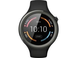 Motorola - Moto 360 Sport Smartwatch 45mm Silicone - Black Model: 00906NARTL Smart Watch