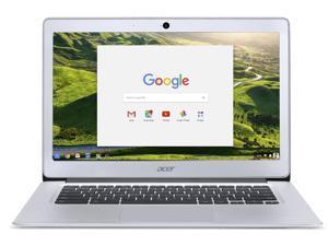 Acer Chromebook 14, Aluminum, 14-inch Full HD, Intel Celeron Quad-Core N3160, 4GB LPDDR3, 32GB, Chrome, CB3-431-C5FM Laptop Notebook PC Computer