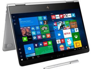 """HP 13-AC013DX Spectre x360 2-in-1 13.3"""" Touch-Screen Laptop - Intel Core i7 - 8GB Memory - 256GB Solid State Drive - Natural silver KABY LAKE Tablet PC Touchscreen Notebook Computer Intel HD"""