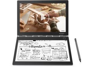 """Lenovo - Yoga Book C930 2-in-1 10.8"""" Touch-Screen Laptop - Intel Core i5 - 4 GB Memory - 128 GB Solid State Drive - Iron Gray Notebook Tablet PC Computer ZA3S0136US"""