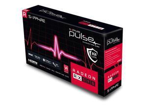 Sapphire Technology 11289-06-20G Radeon Pulse RX 590 8GB GDDR5 Dual HDMI/ DVI-D/ Dual DP w/ Backplate (UEFI) PCI-E Graphic Cards VIdeo GPU Card