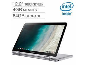 "Samsung 12.2"" Touchscreen 2-in-1 Chromebook - Intel Celeron - 1920 x 1200p - Digital Pen & Bonus Pouch XE520QAB-K04US Laptop Notebook Tablet 4GB 64GB Storage"