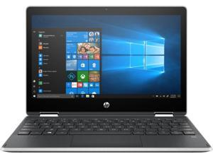 """HP - Pavilion x360 2-in-1 11.6"""" Touch-Screen Laptop - Intel Pentium - 4GB Memory - 128GB Solid State Drive - Ash Silver Keyboard Frame, Natural Silver 11M-AP0013DX Tablet Notebook PC Computer"""