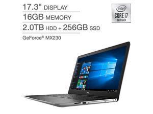 "Dell 17.3"" Laptop - 10th Gen Intel Core i7-1065G7 - GeForce MX230 - 1080p i3793-7275SLV-PUS Notebook PC Computer 16GB 2TB HDD + 256GB SSD MX230"
