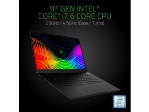 "Razer Blade 15 Gaming Laptop 2019: Core i7 - 9750H 6 Core - GTX 1660Ti - 15.6"" FHD 1080p 60Hz - 16GB RAM - 128GB SSD + 1TB - CNC Aluminum - Chroma RGB Lighting - Thunderbolt 3 RZ09-03009E76-R3U1"