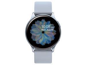 Samsung Galaxy Active 2 Smartwatch 44mm - Silver - Bonus Charging Cable Smart Watch SM-R820NZSCXAR