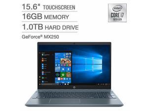 "HP Pavilion 15.6"" Touchscreen Laptop - 10th Gen Intel Core i7 - GeForce MX250 - Fog Blue Notebook PC Computer 1TB 16GB 15-cs3073cl"