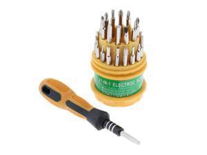 31 in 1 Screwdriver Set PC Hard Drive Printer Shaver Repair Kit Tools