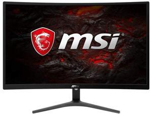 """MSI Full HD FreeSync Gaming Monitor 24"""" Curved Non-Glare 1ms LED Wide Screen 1920 X 1080 75Hz Refresh Rate (Optix G241VC)"""