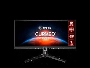 "MSI Optix MAG301CR 30"" WFHD 2560 x 1080 1ms 200Hz 2xHDMI DisplayPort USB Type-C 3.2 USB Hub AMD FreeSync Backlit LED Curved Gaming Monitor"