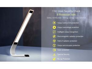 Zen portable desk lamp, Eye Protection - Blue light filter, Flicker free, 360º Adjustable, Rechargeable, Cordless