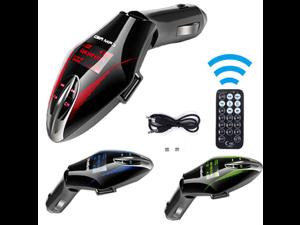 New Wireless In Car FM Radio Transmitter Music MP3 Player USB SD Card Slot Remote Auto FM Transmitter MP3 Music Player Car Radio blue