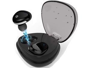 True Wireless Earbuds,Bluetooth 4.2 Deep Base Headphones, Sports in-Ear TWS Stereo Mini Headset