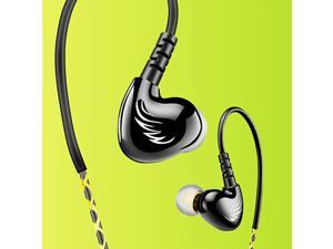Hi Res High-quality Stereo Surround Wired Headphone , Top ABS   PC Material Shockproof Dust-proof Waterproof Bass Strengthening Noise Cancelling In-ear Headset
