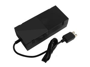 Xbox One Power Supply Brick Charger Replacement Accessory Kit with AC Adapter Cord & 2.85 Feet Cable 100-240V for Xbox One Console - Black