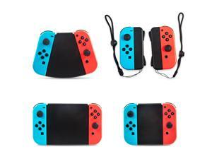 Gamepad connector, 5-in-1 Gamepad Handle for Nintendo Switch Joy-Con