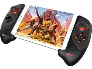 Wireless Android Gamepad, Mobile Gaming Controller Joystick for PUBG Fortnite with 5 - 10in Telescopic Bracket Support Tablet, Android Smartphone Samsung Galaxy S10+ S10 S9 S8 S7- Octopus Platform
