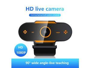 Full HD USB webcam, 1080P autofocus ultra wide angle, computer camera with built-in microphone, compatible with PC, laptop, tablet, mac, suitable for online learning, video call, meeting