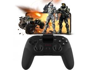 PUBG Mobile Controller , Android Wireless Bluetooth Mobile Gamepad Joystick for Fortnite, COD, PUBG & More Shooting Fighting Racing Games, Support Android 5.0 Smart Phone, TV Box, Tablet, PC