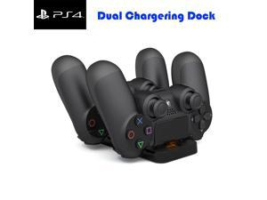 PS4 Controller Charger, Dual Charging Station Dock, Fast Charge for Sony Playstation 4 / PS4 Slim/PS 4 Pro