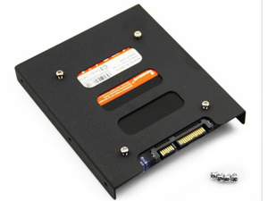 """2.5"""" to 3.5"""" SSD HDD Metal Adapter Mounting Bracket Hard Drive Holder for PC /hard disk"""