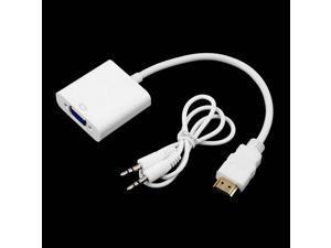 Mini HDMI Male to VGA Female Video Cable Adapter Convertor HDTV 1080p New