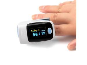 Digital OLED Fingertip Pulse Oximeter RZ001 SPO2 Pulse Rate Oxygen Monitor(Gray)