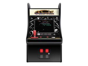 DREAMGEAR DG-DGUNL-3223 6 COLLECTIBLE RETRO GALAXIAN MICRO PLAY