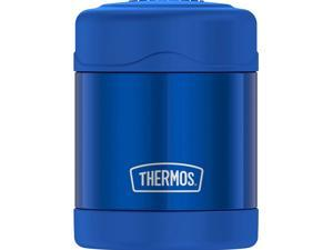 THERMOS FUNTAINER SS VACUUM INSULATED FOOD JAR 10OZ BLUE