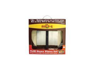 MR BAR B Q 06187Y 3Piece Pizza Stone Kit