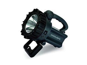 GSM Outdoors CYC-10W Cyclops 10 Watt LED Rechargeable Spotlight-Grey