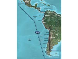 Garmin G2 Hxsa002r South America West Coast Microsd/Sd